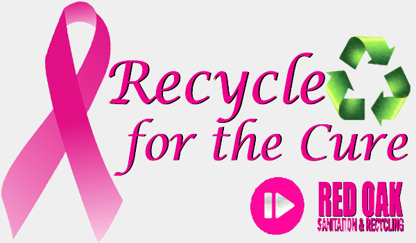 Red Oak Sanitation recycling for the cure